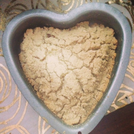 soda bread heart